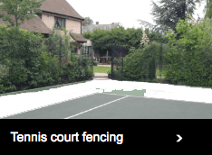 Tennis court fencing page link